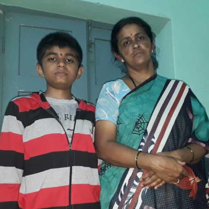 Help Sandeep Kashyap continue his education