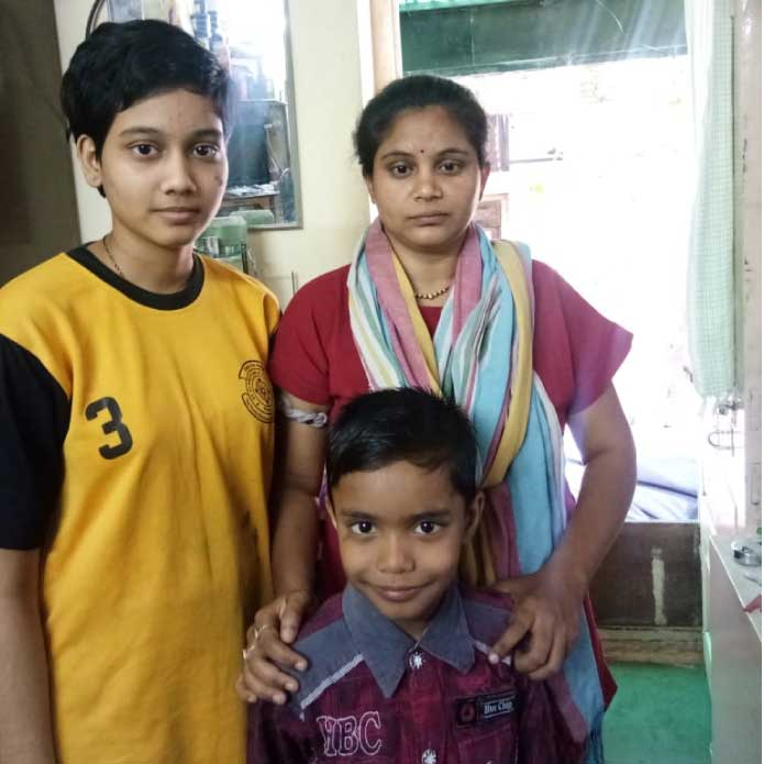 Help Swati pay school fees for her son