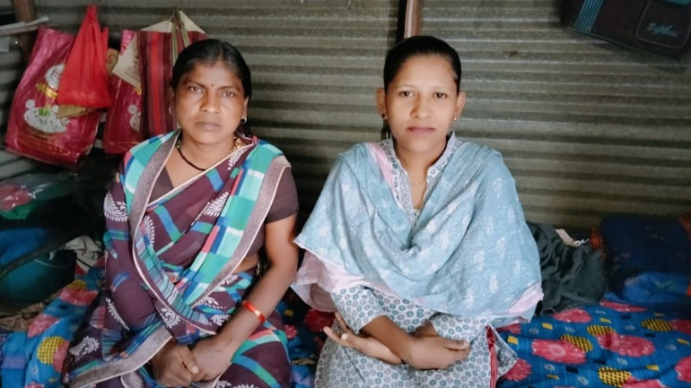 Help Lalita and Punam rebuild their home